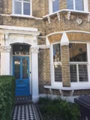 Typical London Victorian-terraced home