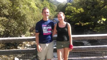 Us in the North Wales secret paradise, hosted by the same people for 10 years!