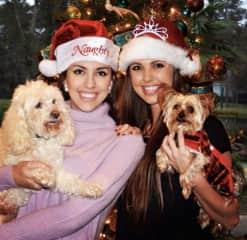 Sasha, Milo, my sister and I!