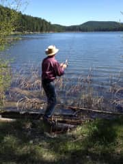 Al fishing in Idaho when the time permits