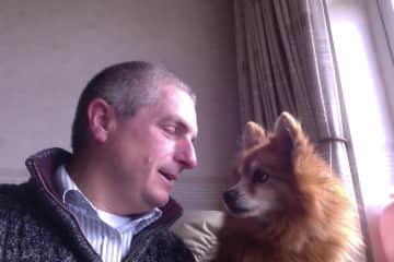 Mark Ford lived with and cared for Mum's dog Ben after Mum went into care with dementia.