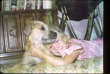 Animal lover since the very beginning!