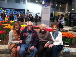 Family - Lori and Mel with Lori's parents