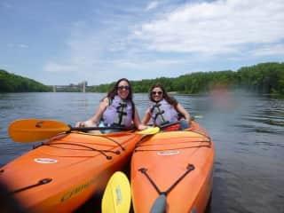 Kayaking the Misssissippi