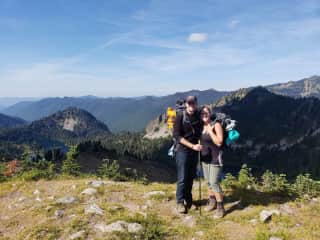 My husband and I love to hike/backpack.  There is so much of this world to see and we want to see it all!