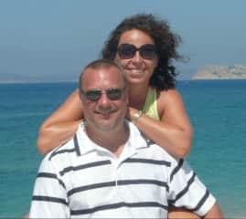 Michel and Tiziana in Sardinia, Italy
