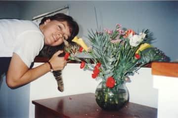 My cat Gizmo RIP