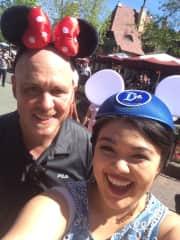 Disneyland trip with my dad.