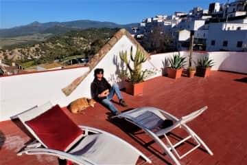 Dog day afternoon in Alcala de Los Gazules