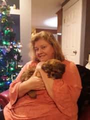 Me Kimberly with Taz