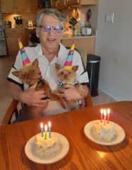 Happy birthday Nana and KIko!