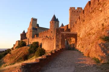 Carcassonne, the city walls