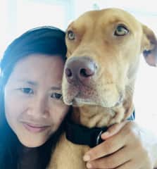 My pal Honey and me