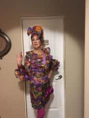 My Halloween costume, Carmen Miranda