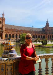We have traveled fairly extensively in Spain.  The Plaza de Espana in Seville is uniquely beautiful.