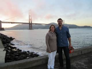 2013 - Levi and Koreen in San Fransisco