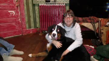 Shelly's Bernese and me