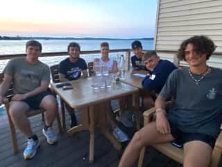 I took my boys and their friends on a few trips during their senior year. This one is in the Thousand Islands.