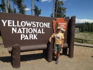 Linn enjoying Wyomings best!