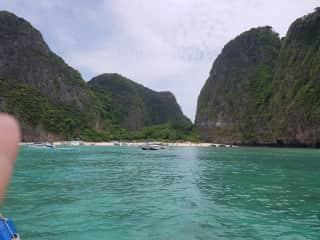 Maya Bay, Phi Phi Ley, Phuket, Thailand