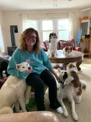 Me and the pack