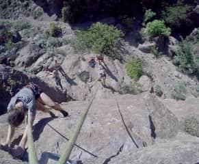 Climbing in Tenerife / Arico