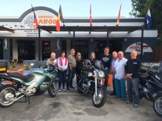 Weekend away with our motorbike club