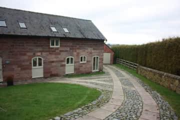Sandstone Barn Entrance