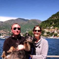 Gladys on Lake Como