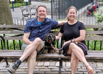 Tim, Amy & Lucy in New York City