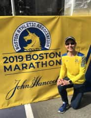 I love to run and have completed many marathons including 4 Boston Marathons. I have run as a sighted guide for visually impaired runners for my past 2 Boston Marathons.   I enjoy using my love for running to help others accomplish their goals.