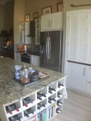 Our Kitchen - built by Marcel