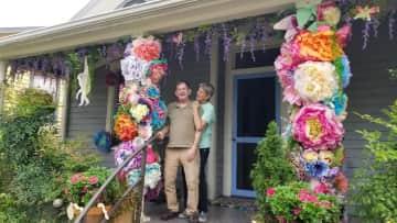 Our home in North Carolina during the Azalea Festival 2021