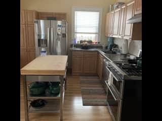 Full kitchen with lots of fun appliances you are welcome to use