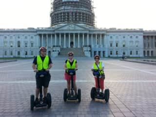 Segway riding in DC with my children