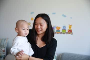 Volunteering in childcare