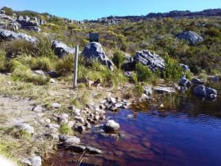 De Villiers Dam, Constantiaberg.