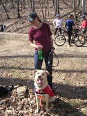 Volunteering with the Humane Society's Hiking Hounds program