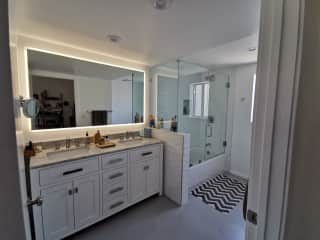 Large bathroom off the office.