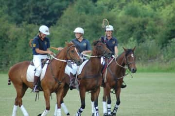 Our family plays a horse sport called Polocrosse all over the world
