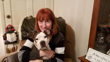 Linda with Daisy