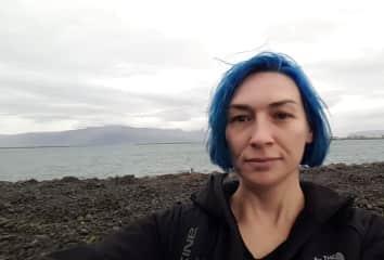 Cloudy days in Reykjavik