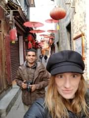 Traveling couple ~ China