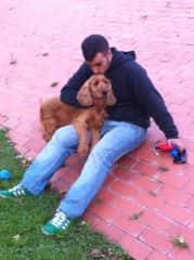 Franc with Johannes a few years ago