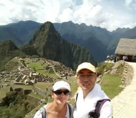 Machu Picchu Peru 3 1/2 years ago .