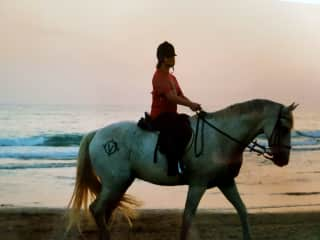 me in vacations as child...a dream in Andalusia (Spain)