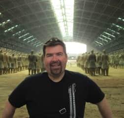 Me in Xian, China