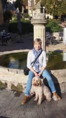 Our housesit in Le Fleix France minding Finn