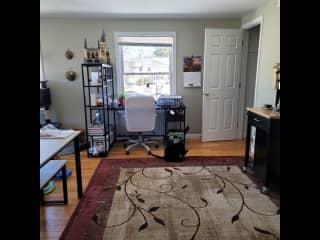 Large desk space