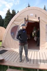 """Getting ready head out at """"bear camp"""" - Lake Clark Nat'l Park, Alaska. Awesome adventure."""
